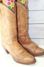 Frye Vintage 9 B Vintage Brown Leather Women's Western Boots