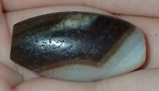 29mm Old Tibetan, Tibet worry agate Bead, #S2867