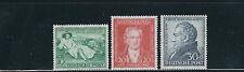 GERMANY 1949 VAN GOETHE (Scott B306-08) VF MNH