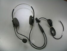Plantronics P62N Polaris Supra Binaural NC Headset for Headset-Ready Telephones