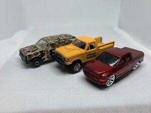 Lot Of 3 Maisto 1/64 Scale Cars Explorer, Tow Truck, Dodge Ram WS