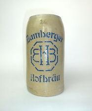 Bierkrug um 1900 Bamberger Hofbräu Krug