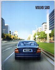 Volvo S80 2001-02 UK Market Sales Brochure Inc Executive