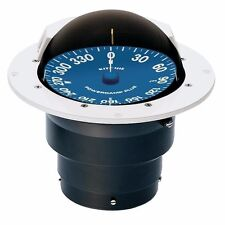 """Ritchie SuperSports 5"""" Flush Mount Compass SS-5000W Dial White Light MD"""