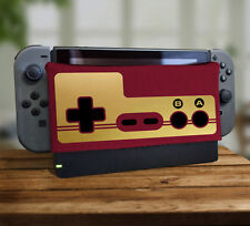 80's GOLD Controller Pad Dock Sock Screen Protector Cover For Nintendo Switch