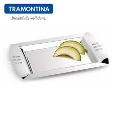 TRAMONTINA ® Rechteckig Tablett Serviertablett 35x22cm Edelstahl 18/10 61285/350