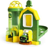 Kids Car Toy Playset Vehicle Barnhouse Children Learning Castle John Deere