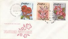 Cape Verde 1980 Flowers FDC Unaddressed VGC