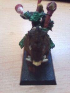 Games workshop warhammer fantasy role play battle game orc war boss wild boar