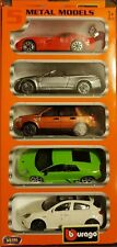 Burago Street Cars 1:43 5 Metal Models