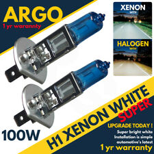 H1 Xenon Super White 100w (448) Head light Bulbs 12v Bright Lamps Fog Effect
