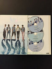 SS501 FIVE MEN'S FIVE YEARS IN 2005-2009 MBC DVD COLLECTION JAPAN EDITION