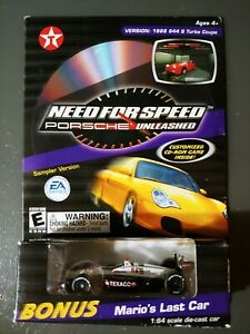 Need For Speed Porsche Unleashed  #6 Texaco ACTION Race Mario's Last Car CD-ROM