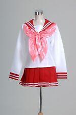 Lucky Star Konata Izumi Cosplay Costume Winter School Uniform*Custom Made*