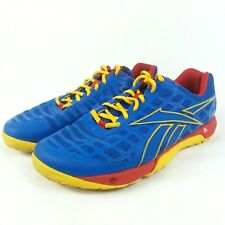 Reebok Crossfit CF7 Training Men's Athletic Shoes 023501 Blue Red - Size US 6.5