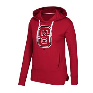 NC State Wolfpack NCAA Adidas Women's Red Printed Stitch Fleece