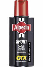 ALPECIN - Sport CTX - CAFFEINE SHAMPOO - NEW -  250 ml - German Product