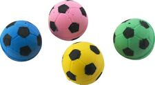 Ethical Pet Spot Sponge Soccer Balls 4 count | Colorful Interactive Cat Toys