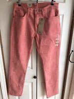 NWT Levi's 511 Slim Stretch Pink Floral Jeans Denim RARE Aldo Tea Sz 33 x 30