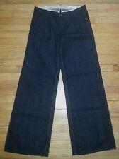 "Rag And Bone Designer Jeans Sz 30 34""x36"" Black Handmade NWOT $200+ p2501"