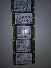 Lot of 5 128GB mSATA Drive Hard Solid State Drive SSD Laptop Storage
