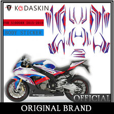 KODASKIN 2D Body Fairing Emblem Stickers Decals Set for BMW S1000RR 2015-2016