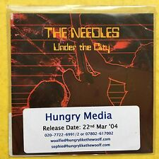 The Needles - Under The City - Poly Sleeve - Promo CD
