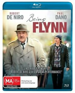 Being Flynn Blu Ray - Robert DeNiro - Paul Dano - Brand new sealed, region B