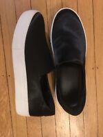 Alex and Alex Women's Black Satin Platform Sneakers Size 8.5 BRAND NEW