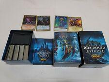 World Of Warcraft Assault On Icecrown Citadel Raid Deck Box