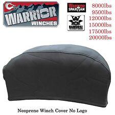 Warrior Winch Neoprene Cover 6000 8000 9500 12000 17500 20000 lbs WaterResist XL