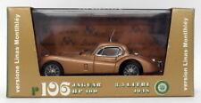 Brumm 1/43 Scale Diecast Model MOBRR106 - 1948 Jaguar HP160 3.5 Litre - Gold