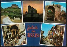 AD4554 Saluti da Assisi (PG) - Vedute - Cartolina postale - Postcard