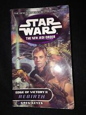 Star Wars New Jedi Order Edge Victory Ii 2 Rebirth Keyes 2001 sci-fi novel mmpb