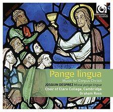 Choir of Clare College Cambridge - Pange Lingua  Music for Corpus Christi [CD]
