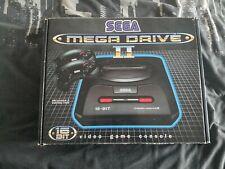 Vendo Consola Sega Mega Drive II completa con caja y manual.