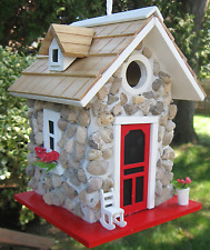 Birdhouse Home Bazaar Fieldstone Guest Cottage Stone