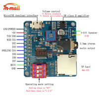 DY-SV5W Mini MP3 Player Module Trigger/Serial Port Control Audio Playing Board