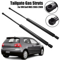 2x Rear Tailgate Boot Trunk Gas Struts For VW Golf V MK 5 2003-2009