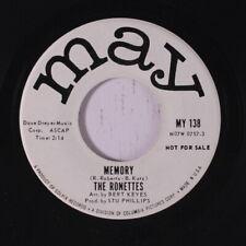 RONETTES: Memory / Good Girls 45 (dj) Oldies