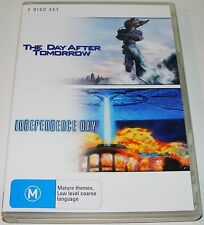 THE DAY AFTER TOMORROW / INDEPENDENCE DAY --(Dvd 2 Disc Set)