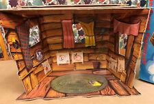 Muffy Bear Vanderhare The Club House North American Bear Co CardBoard Playhouse