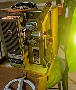 VTG Kodak Kodascope Royal Projector BP-16 & Case Bundle 16mm, Reel, 3 Pamphlets