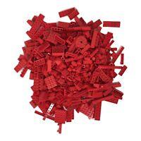 Bulk Red LEGO Bricks 1 Pound LB Parts Pieces Blocks Assorted Mixed Building kids