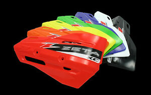 ZETA XC SHIELDS FOR ARMOR-GUARD HANDGUARDS CHEAP MOTOCROSS MX ENDURO ALL COLOURS