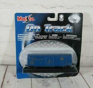Maisto B&O 482672 Cushion Underframe Freight Car On Track Die Cast Train 15131