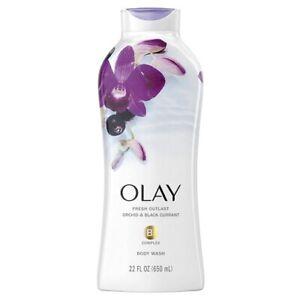 Olay Fresh Outlast Body Wash Orchid & Black Currant