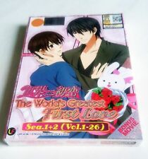 SEKAI-ICHI HATSUKOI Complete Season 1 & 2 PLUS Movie TAKAFUMI NO BAAI DVD BoxSet