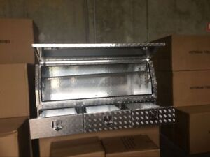 Aluminium Toolboxes Heavy Duty Full Door ute with 3 Drawers 170x60x82cm truck