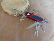 VICTORINOX COLTELLO KNIFE SWISS ARMY EVOGRIP s17RED BLACK 15 FUNCTIONS 263913sc